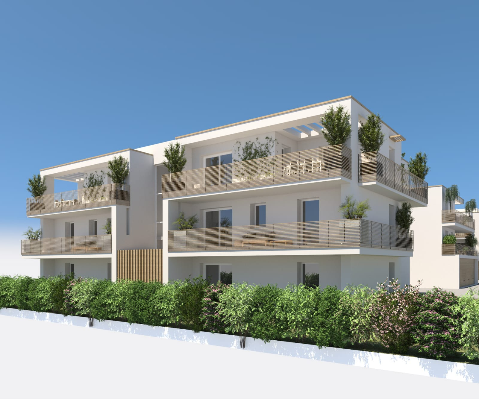 Nuovo cantiere sassuolo via indipendenza for Palazzine moderne